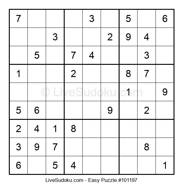Beginners Puzzle #101197