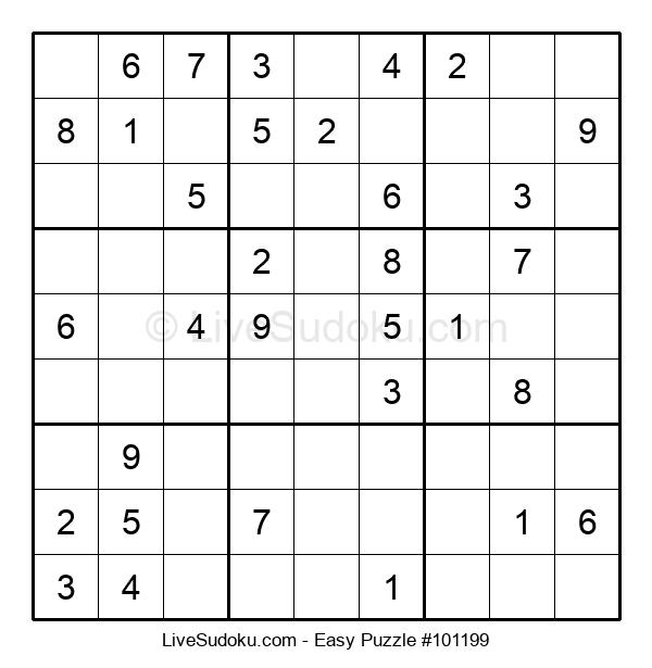 Beginners Puzzle #101199