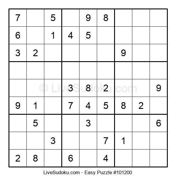 Beginners Puzzle #101200