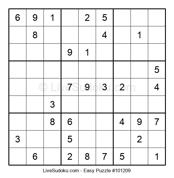 Beginners Puzzle #101209