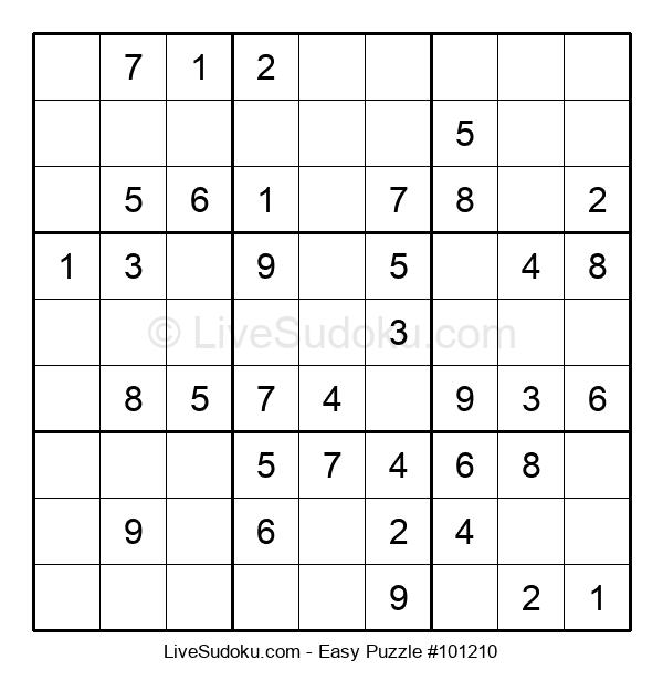 Beginners Puzzle #101210