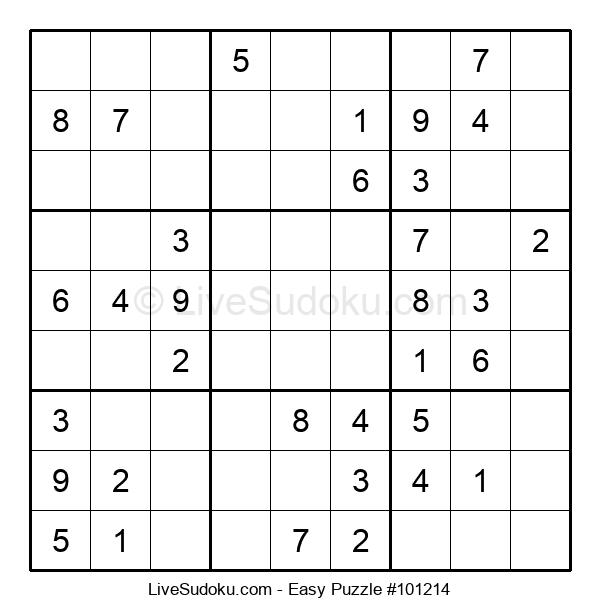 Beginners Puzzle #101214