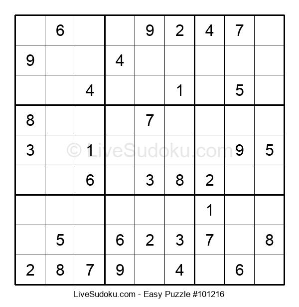 Beginners Puzzle #101216