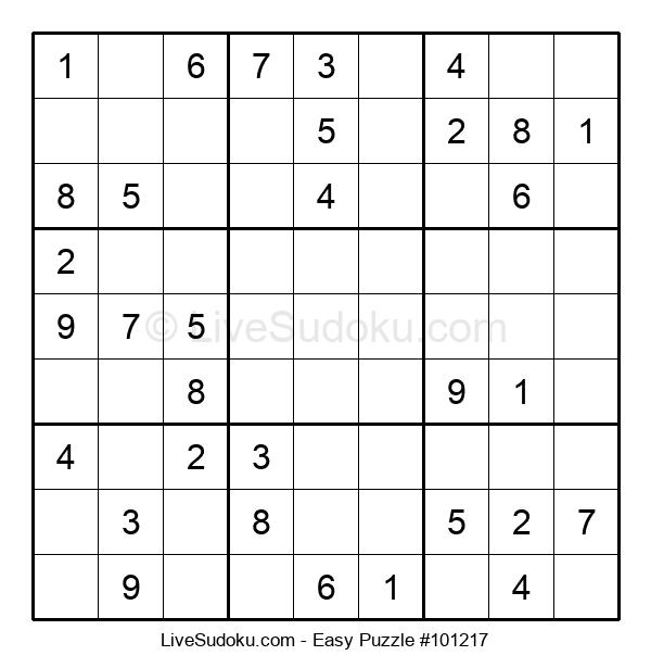 Beginners Puzzle #101217