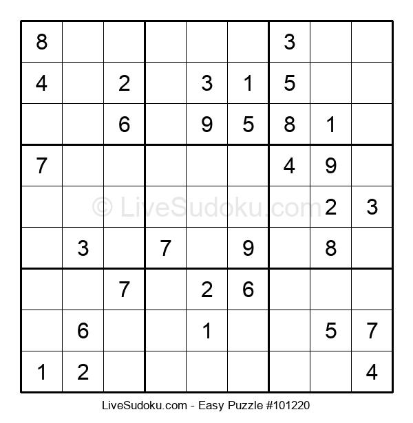 Beginners Puzzle #101220