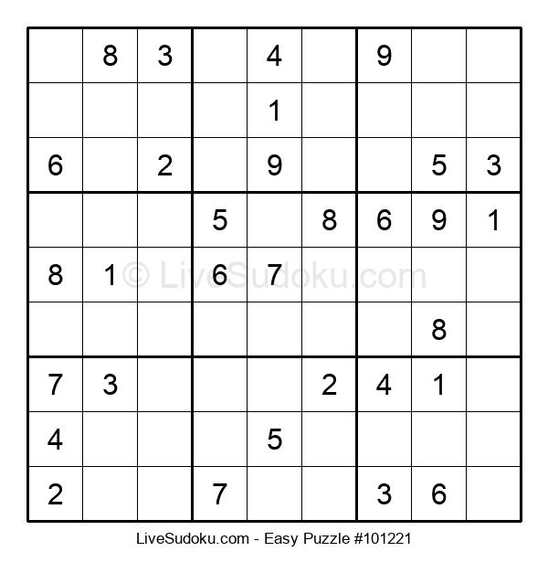 Beginners Puzzle #101221