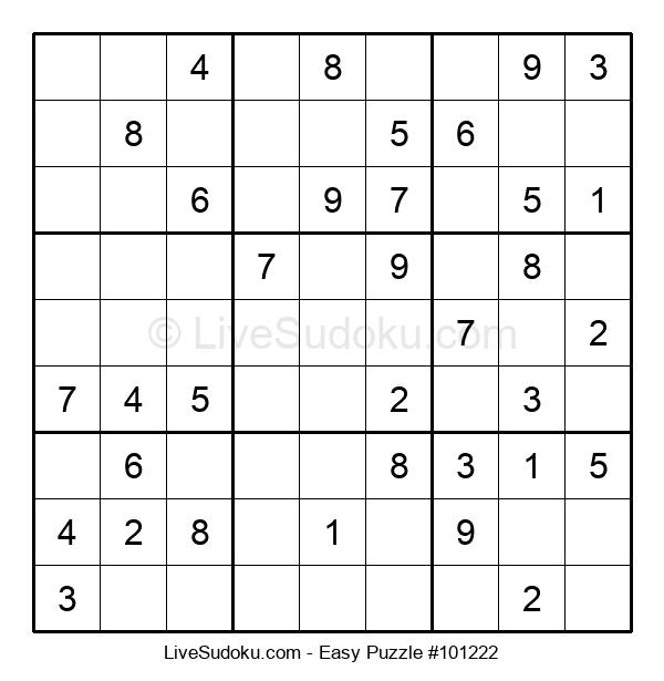Beginners Puzzle #101222