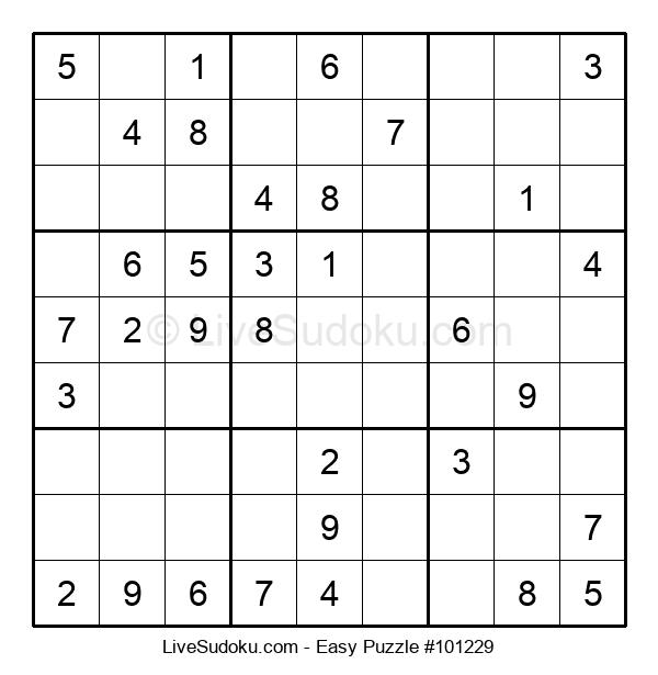 Beginners Puzzle #101229