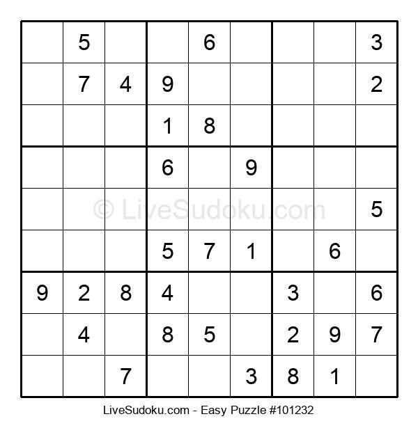 Beginners Puzzle #101232