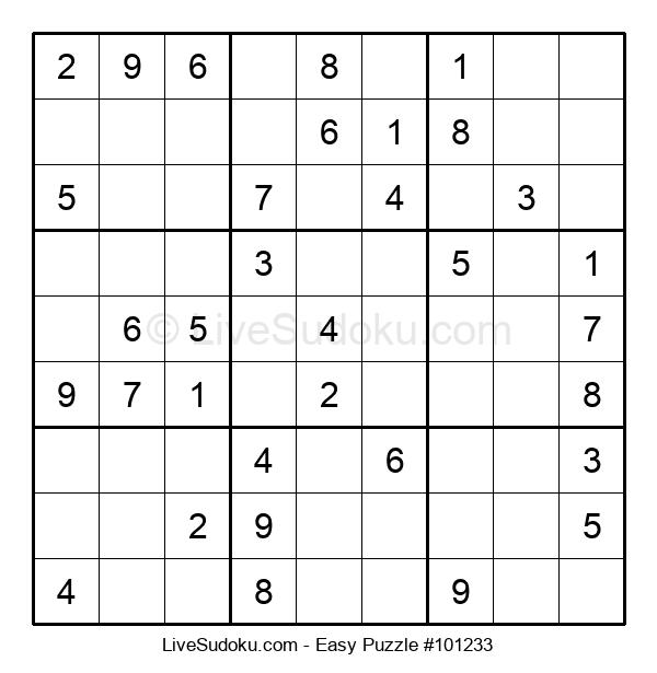 Beginners Puzzle #101233