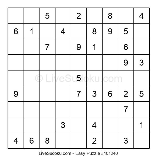 Beginners Puzzle #101240