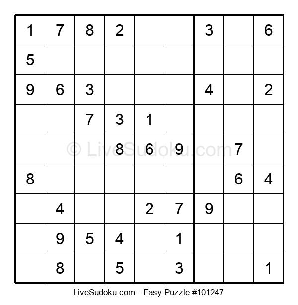 Beginners Puzzle #101247