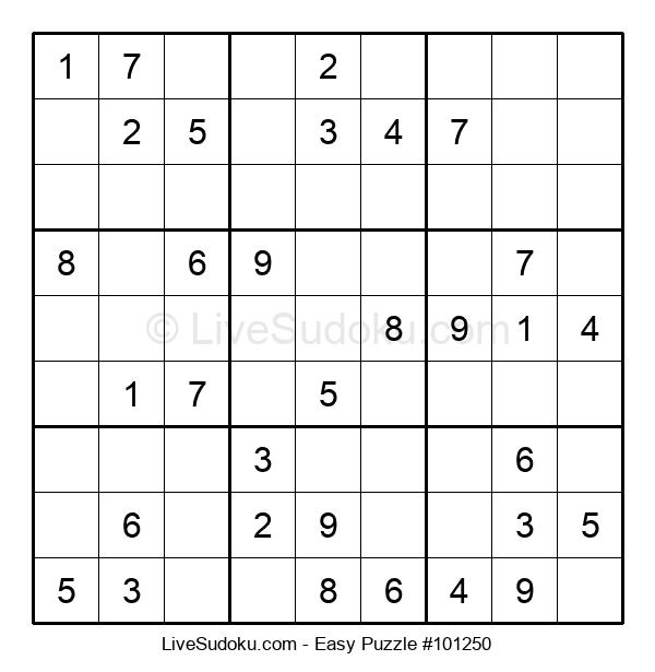 Beginners Puzzle #101250