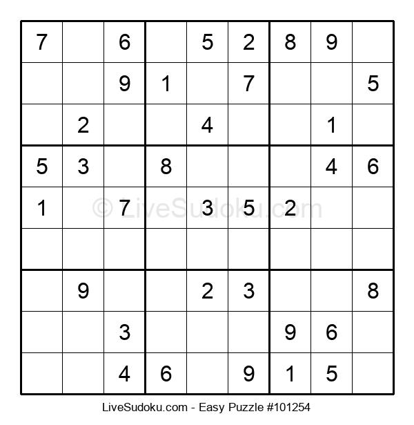 Beginners Puzzle #101254
