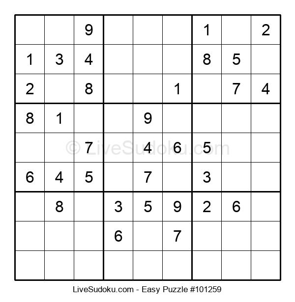 Beginners Puzzle #101259