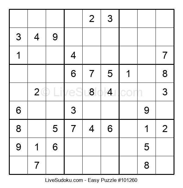 Beginners Puzzle #101260