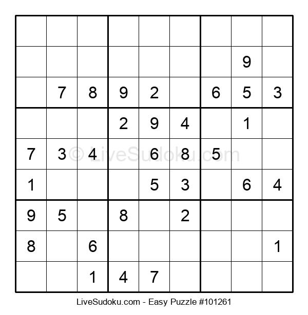 Beginners Puzzle #101261
