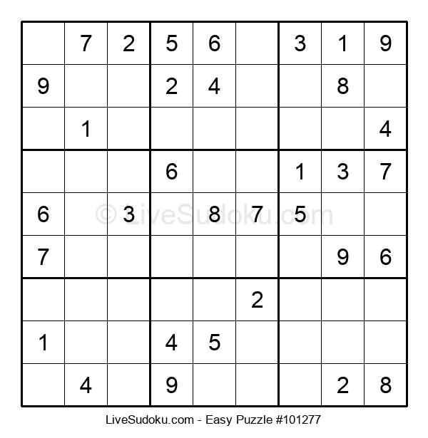 Beginners Puzzle #101277