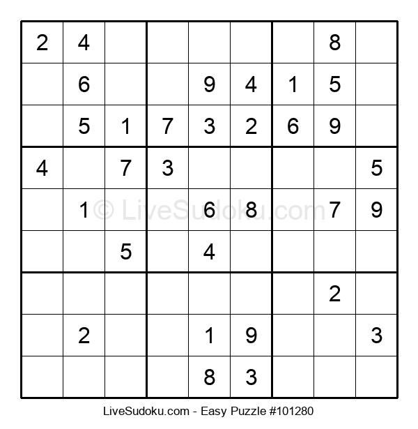 Beginners Puzzle #101280