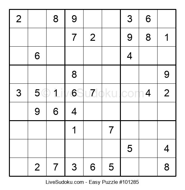 Beginners Puzzle #101285