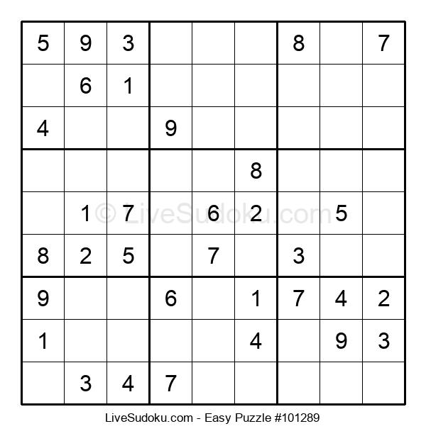 Beginners Puzzle #101289