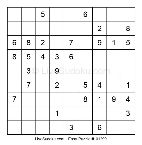 Beginners Puzzle #101299
