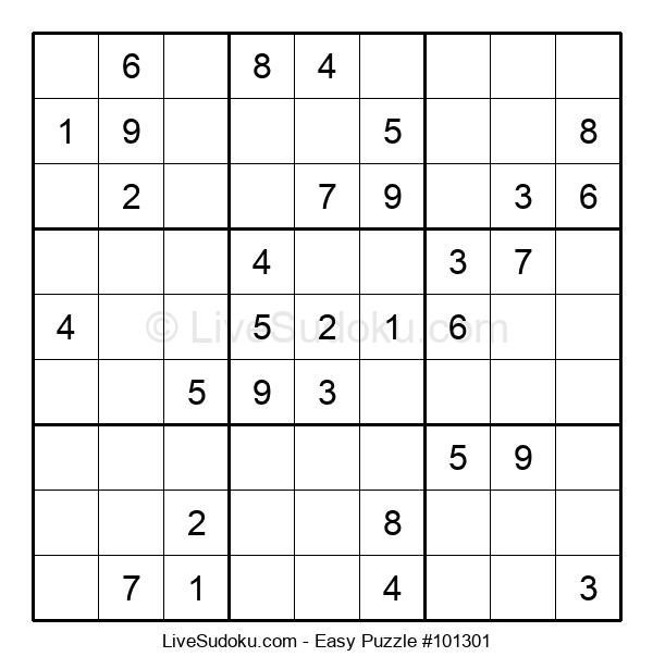 Beginners Puzzle #101301