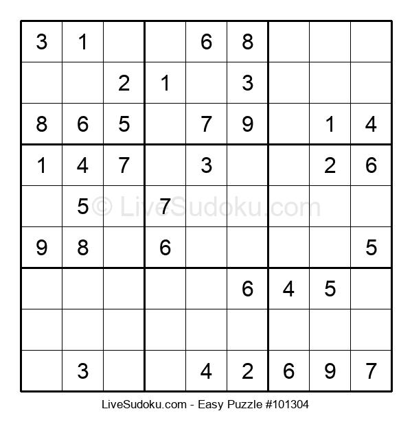 Beginners Puzzle #101304