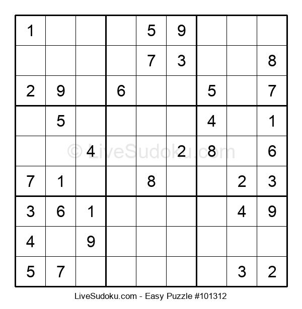 Beginners Puzzle #101312