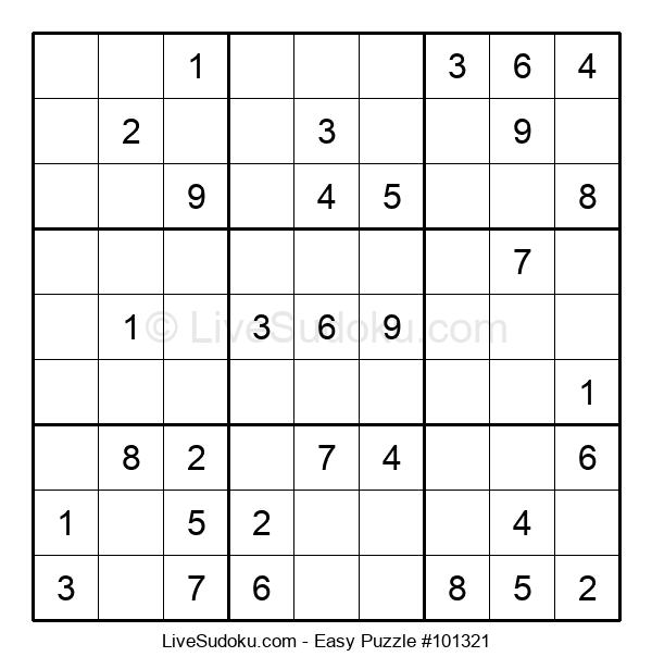 Beginners Puzzle #101321