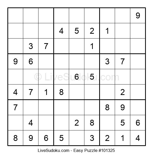 Beginners Puzzle #101325