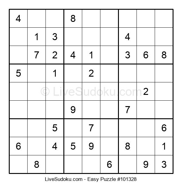 Beginners Puzzle #101328