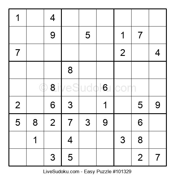 Beginners Puzzle #101329