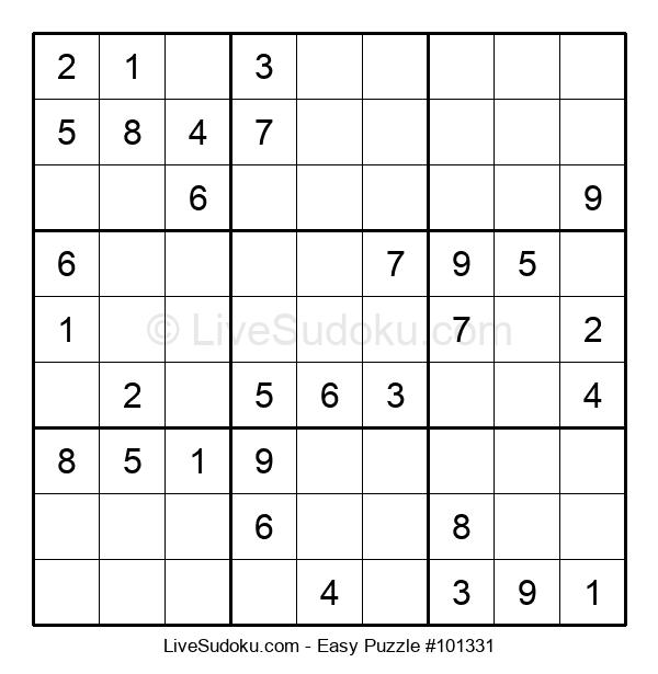 Beginners Puzzle #101331