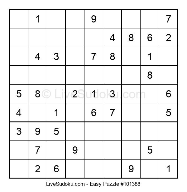 Beginners Puzzle #101388