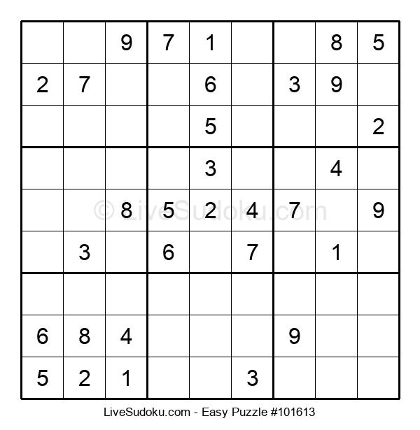 Beginners Puzzle #101613