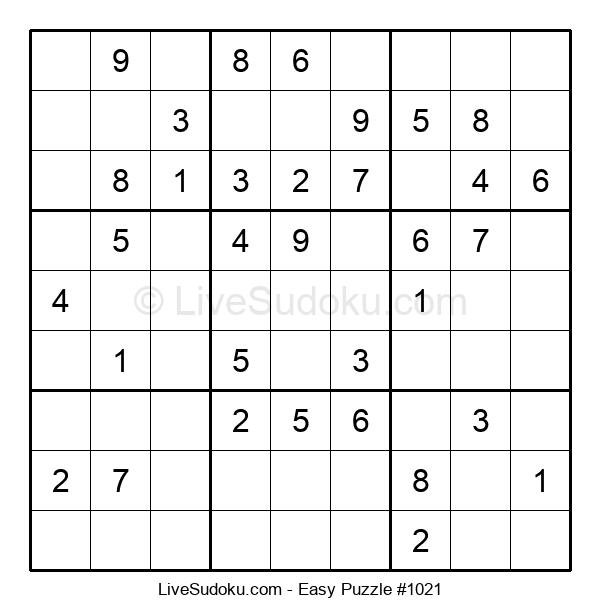 Beginners Puzzle #1021