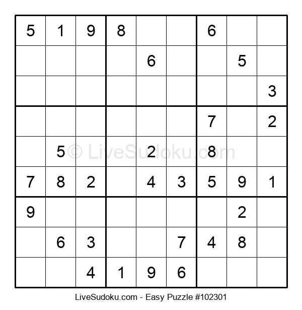 Beginners Puzzle #102301