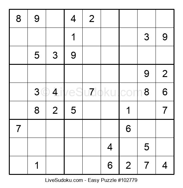 Beginners Puzzle #102779