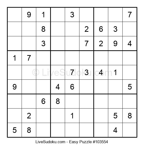 Beginners Puzzle #103554