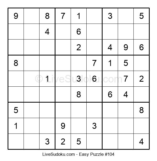 Beginners Puzzle #104
