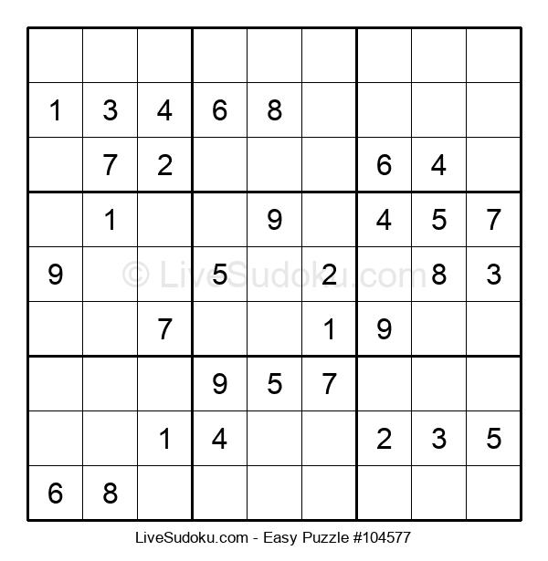 Beginners Puzzle #104577