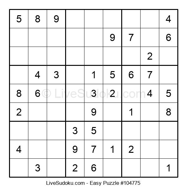 Beginners Puzzle #104775
