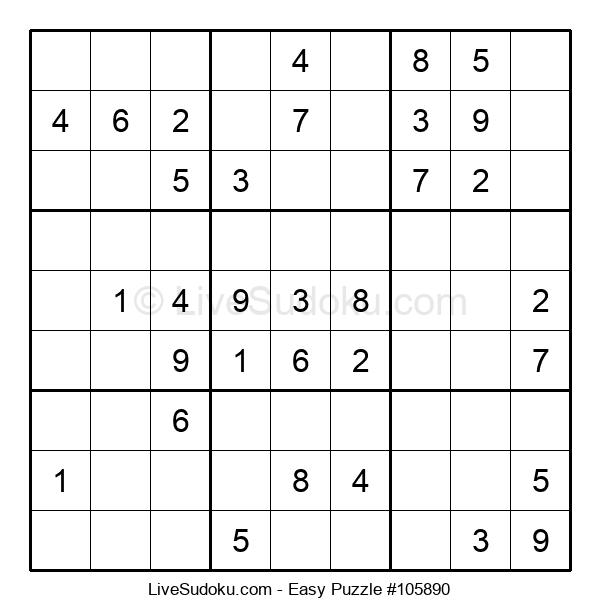 Beginners Puzzle #105890