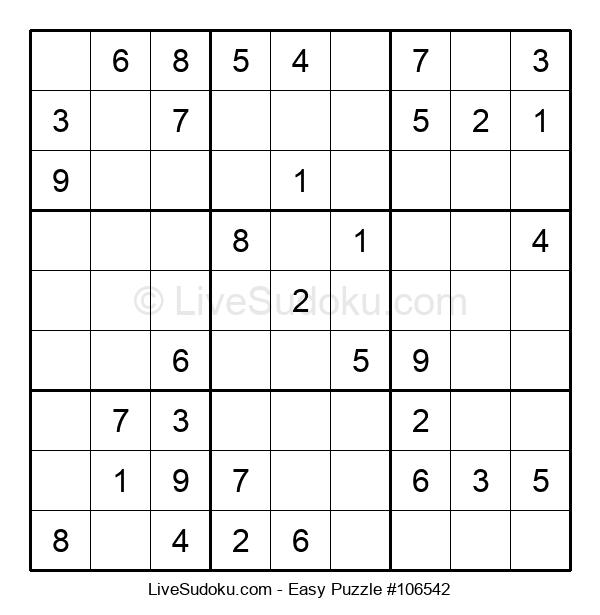 Beginners Puzzle #106542