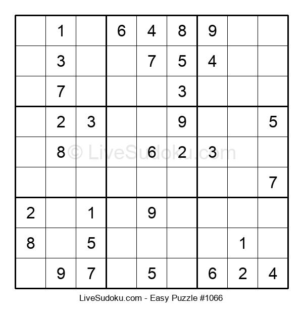 Beginners Puzzle #1066