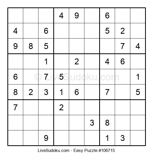 Beginners Puzzle #106715