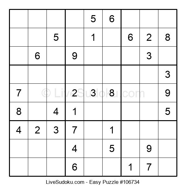 Beginners Puzzle #106734