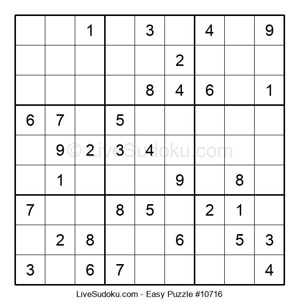 Beginners Puzzle #10716