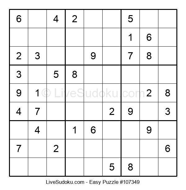 Beginners Puzzle #107349